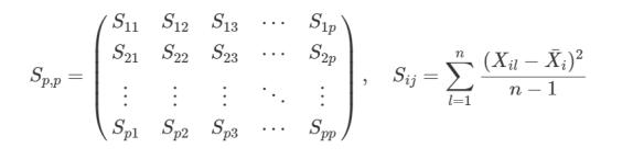 matriz de covariância