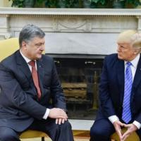 Белый дом опубликовал стенограмму заявления по итогам встречи Порошенко и Трампа