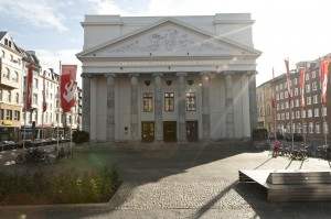 Theater Aachen, Außenansicht, Foto: Ludwig Koerfer