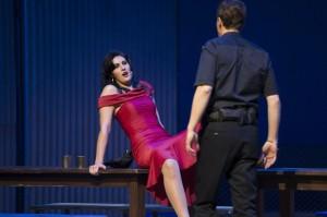 Ileana Mateescu (Carmen), Christoph Strehl (Don José)  ©Thomas M. Jauk / Stage Picture