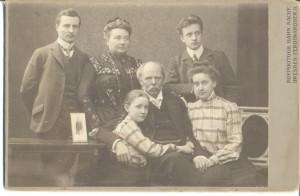 Familie Schuch, Hofphotograph Hahn Nachf., Dresden, um 1900, Privatbesitz Saarbrücken