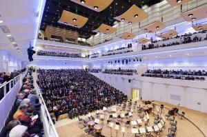 Konzerthaus Dortmund-Saalansicht mit Publikum © Mark Wohlrab