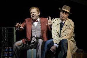 Ks Hannes Brock (Sam Cheswick), Fritz Steinbacher (Bobby) ©Thomas Jauk / Stage Picture