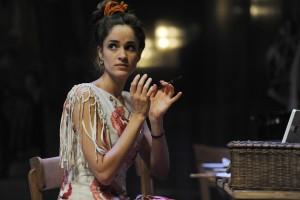 "Elena Sancho Pereg / Szenenfoto aus ""Ariadne auf Naxos"" (Foto: Hans Jörg Michel)"
