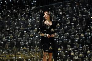 """""""L'elisir d'amore"""" mit Anett Fritsch als Adina bei der Premiere in der Oper Düsseldorf / Foto @ Hans Joerg Michel"""