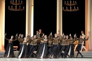 Aalto Ballett Essen: ROMEO UND JULIA - Choreographie: Ben Van Cauwenbergh Ensemble - Foto@ Bettina Stöß -
