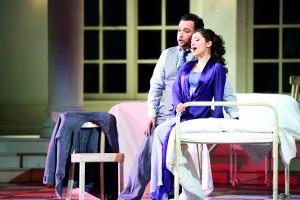 """Szenenfoto zu """"La Traviata"""" (Foto: Saad Hamza)"""