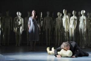 Olesya Golovneva (Gilda), Boris Statsenko (Rigoletto) FOTO: Thilo Beu