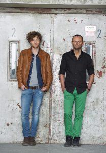 Die Regisseure Philipp Westerbarkei und Tibor Torell – FOTO: Hans Jörg Michel
