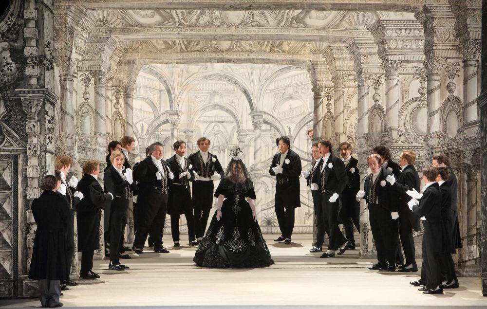 Oper am Rhein /La Cenerentola / Foto @ Wilfried Hösl