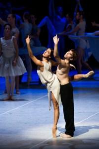 Aleix Martinez, Leslie Heylmann / Nijinski-Ballett/ Hamburg Ballett / Foto @ Kiran West
