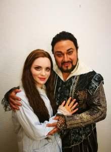 """Katerina Tretyakova und Ramon Vargas in """"Lucia di Lammermoor"""" /Staatsoper Hamburg/ Foto privat"""