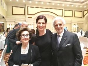 Martha Domingo/Adela Zaharia/Placido Domingo / Foto-privat
