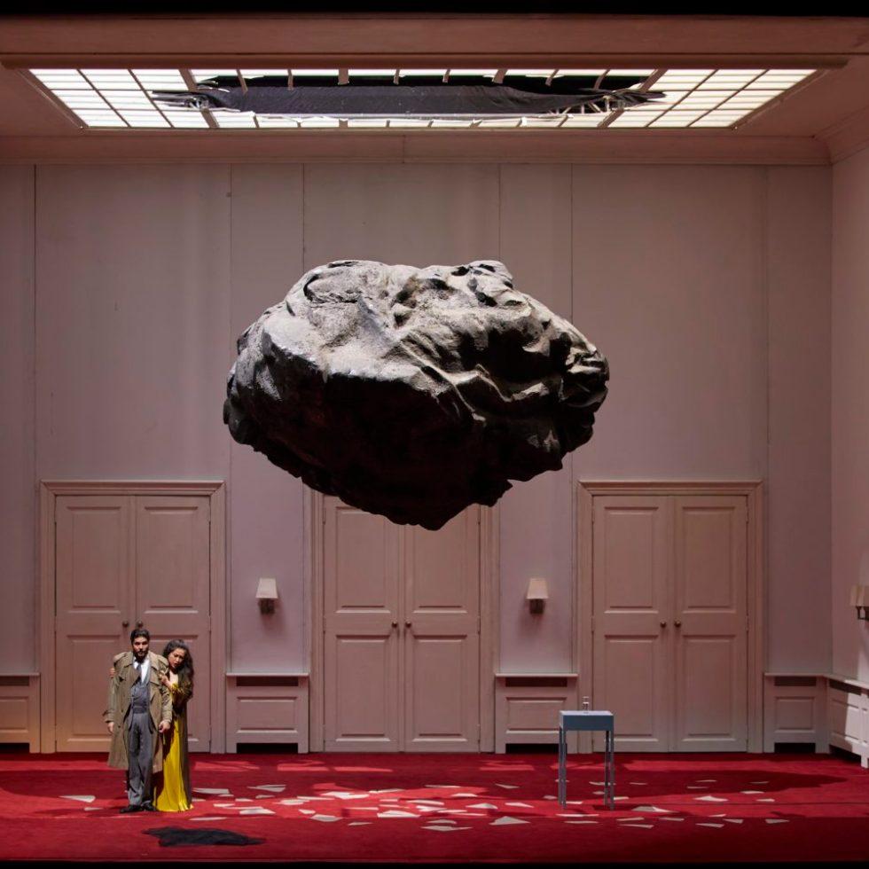 """""""Simon Boccanegra"""" /Staatsoper Hamburg / Foto @ Brinkhoff-Mögenburg"""