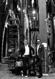 Renaud Doucet und André Barbe / Foto @ Julius Ahn
