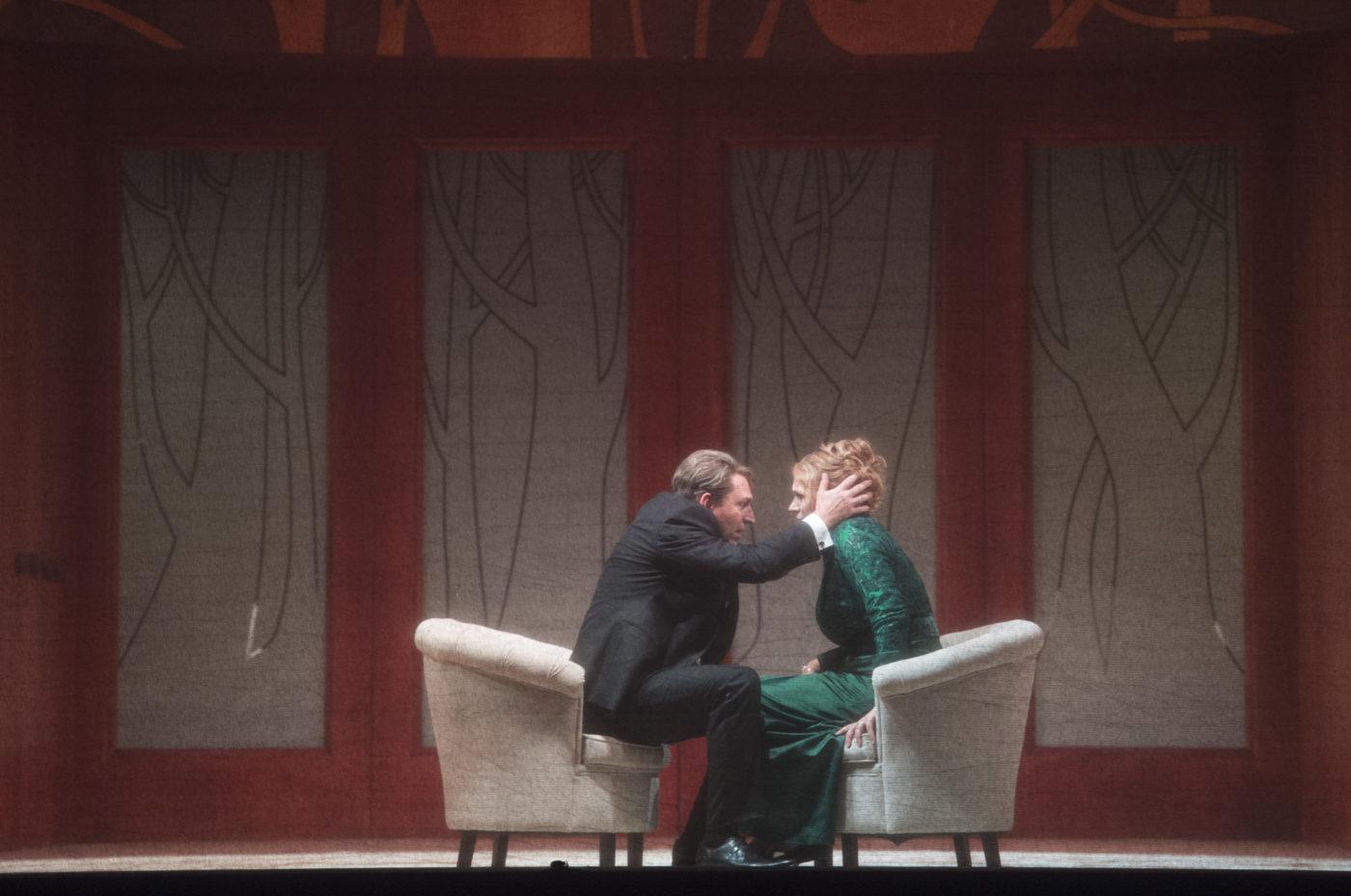 Staatsoper Unter den Linden Berlin/Tristan und Isolde/ Andreas Schager (Tristan), Anja Kampe (Isolde)/ Foto @ Credits: Monika Rittershaus