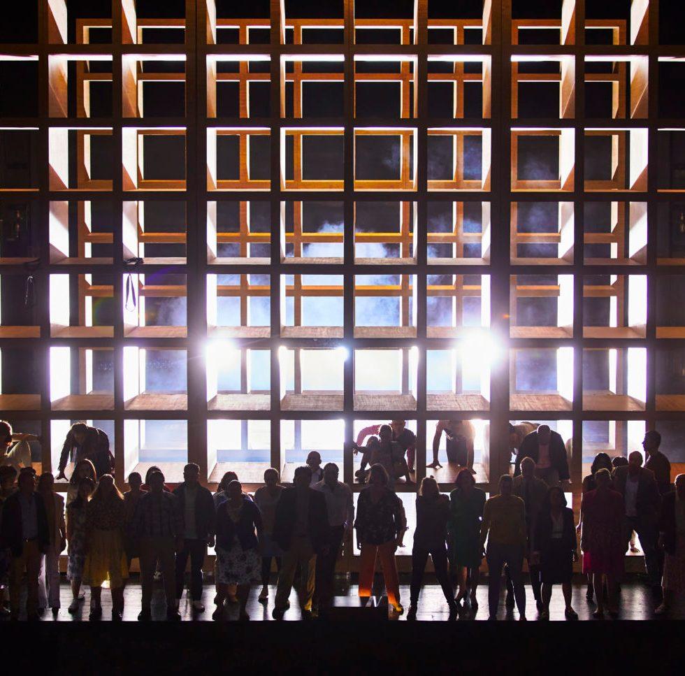Verdi/Messa da Requiem/ Hamburgische Staatsoper/ Dmytro Popov, Nadezhda Karyazina, Maria Bengtsson, Gábor Bretz, Chor der Hamburgischen Staatsoper/Foto @ Brinkhoff/Mögenburg