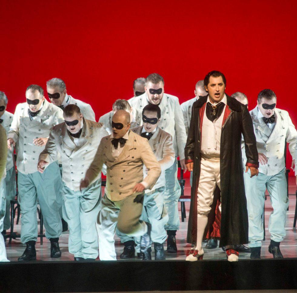 EIN MASKENBALL von Giuseppe Verdi, Deutsche Oper Berlin, copyright: Marcus Lieberenz bzw. Bettina Stöß