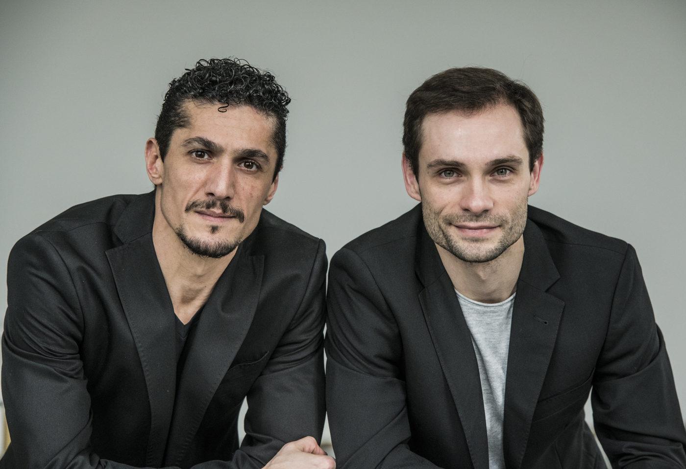 Porträt von Armen Hakobyan und Denis Untila / Foto © Bettina Stöß