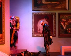 Theater Aachen/Don Giovanni/ Netta Or, Katharina Hagopian, Patricio Arroyo, Ang Du, Hrólfur Saemundsson/ Foto @ Wil van Iersel