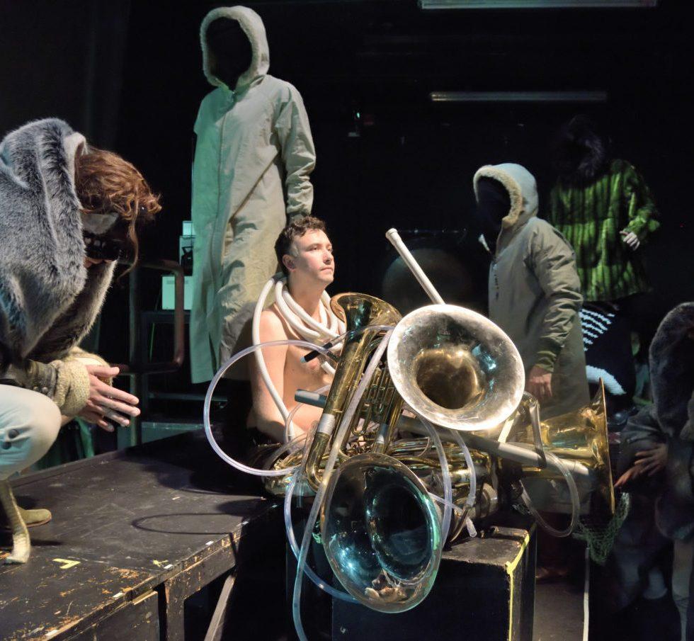 Opera stabile/Staatsoper Hamburg/Das Floß/Alexander Chernyshkov und Ensemble/Foto @ Jörn Kipping