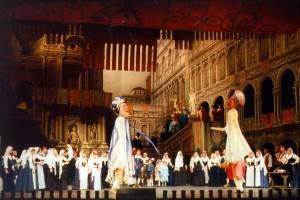 Deutsche Oper Berlin/La Gioconda/(Aufnahmen der Vorstellung vom 16.1.2014 mit Hui He in der Titelpartie, Marcelo Alvarez, Marianne Cornetti u.a./© Bettina Stöß