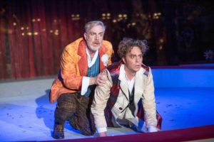 Volkstheater Rostock/BAJAZZO/Oliver Weidiger und James J..Kee/ Foto @ Frank Hormann