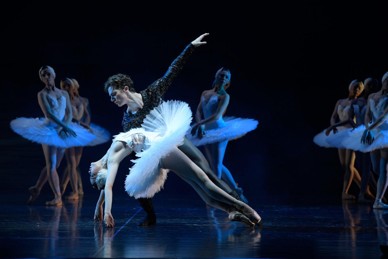 Schwanensee/Aalto-Ballett-Essen/ Foto ©Bettina Stöß