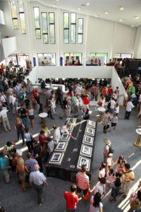 Theaterfest, Foyer Aalto-Theater (Foto: Sebastian Christoph)