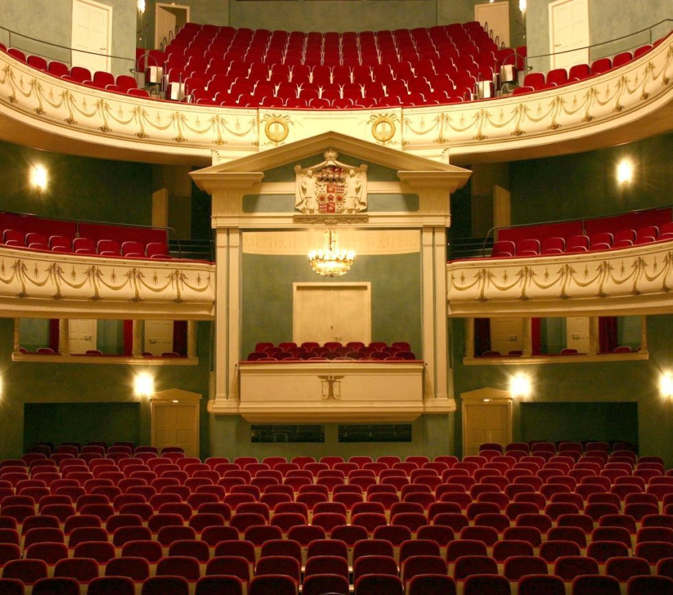 Landestheater Detmold/ Innenansicht / Foto @ Rainer Worms