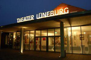 Theater Lüneburg/Außenansicht/ Foto @ www.theater-lueneburg.de
