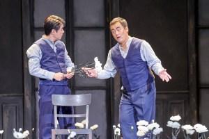 Landestheater Detmold/Faust/Ji-Woon Kim (Faust), Seungweon Lee (Mephisto)/ Foto @ A.T. Schaefer
