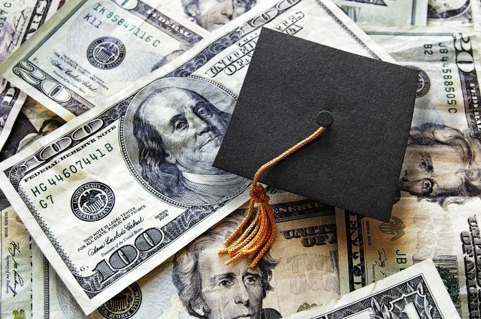Student loan repayment, graduate cap on money