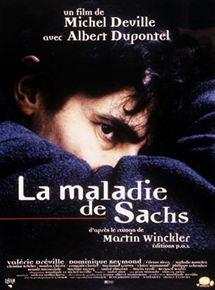 """Couverture du roman """"La maladie de Sachs"""""""