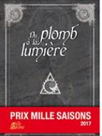 """Couverture de l'anthologie """"Du plomb à la lumière"""""""