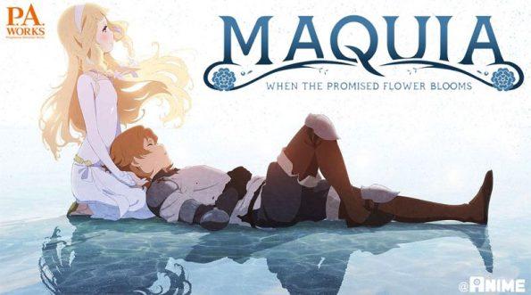 """Bannière du film d'animation """"Maquia""""."""