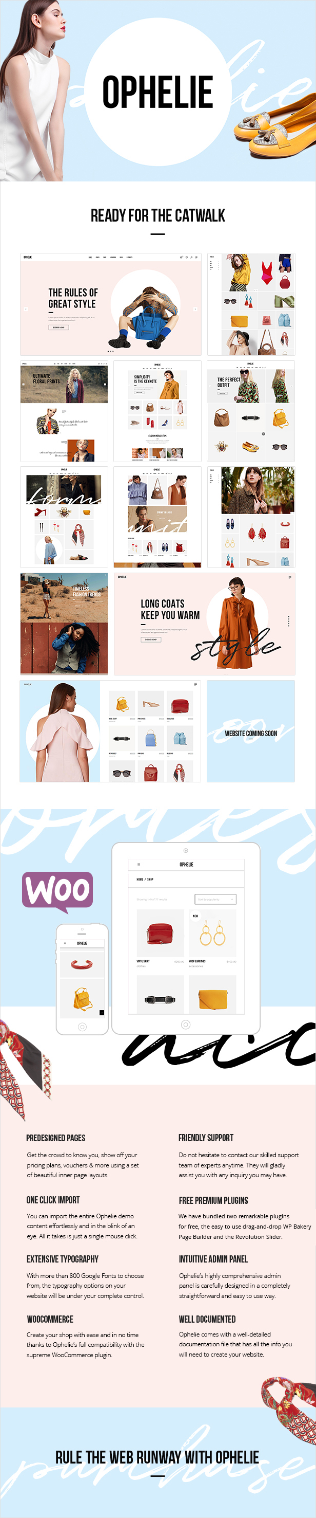 Ophelie - Fashion Shop Theme - 1