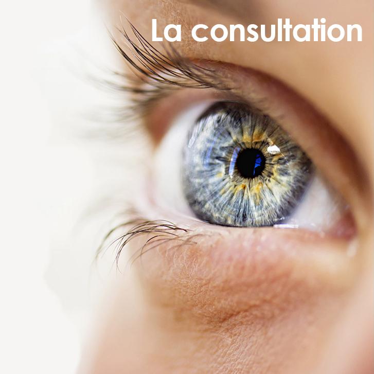 La consultation en ophtalmologie