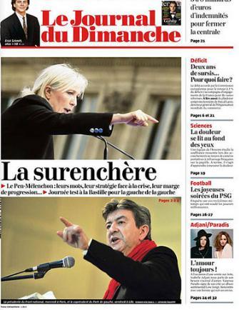 La Une du 5 mai 2013