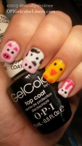 OPI Apline Snow, Black Onyx, Catching Rainbows (thumb), Mod About You, Need Sunglasses, Suzi Has a Swede Tooth, Toucan Do It If You Try