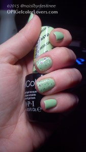 OPI Gargantuan Green Grape, Muppets World Tour