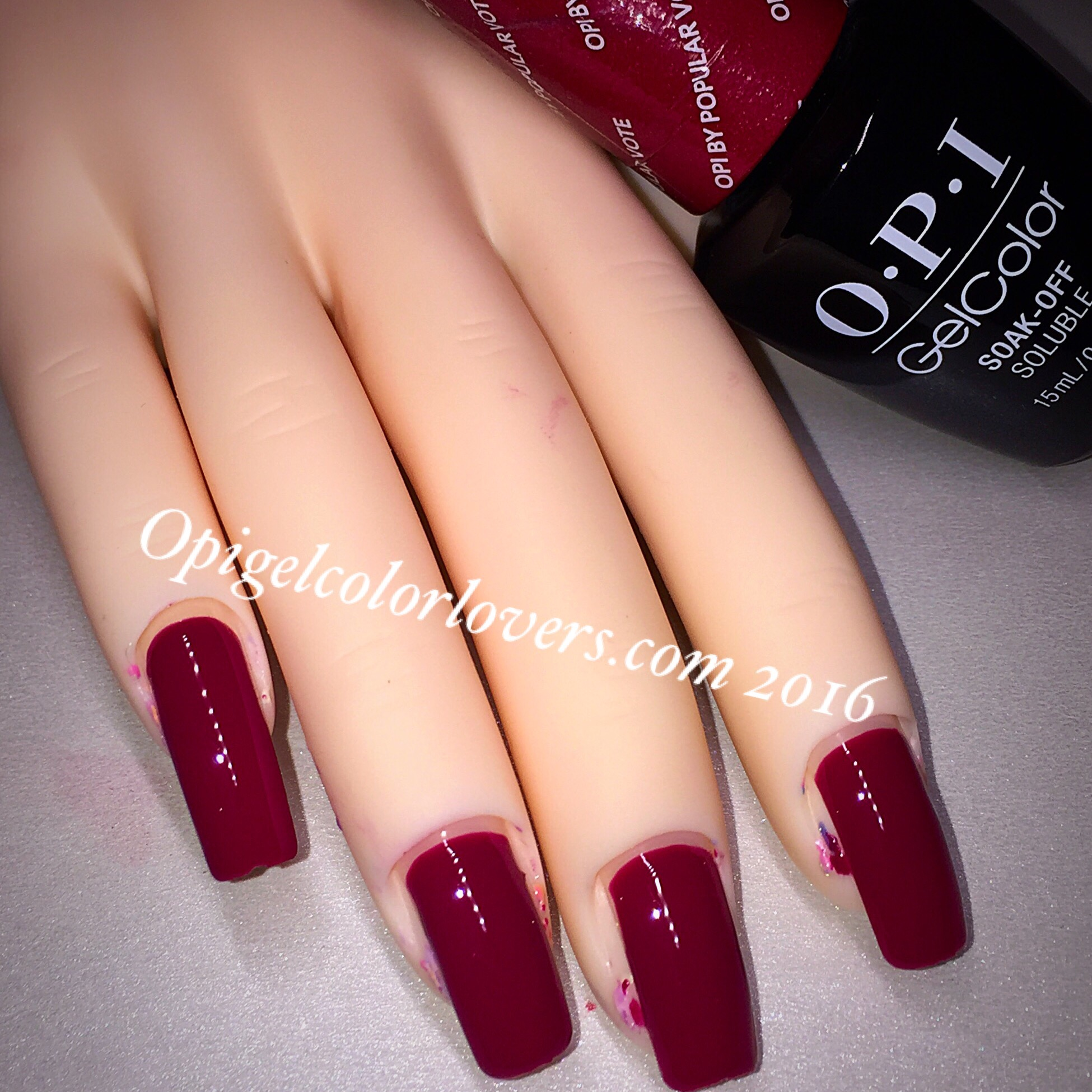 OPI GelColor Lovers Washington, D.C. Collection Fall 2016