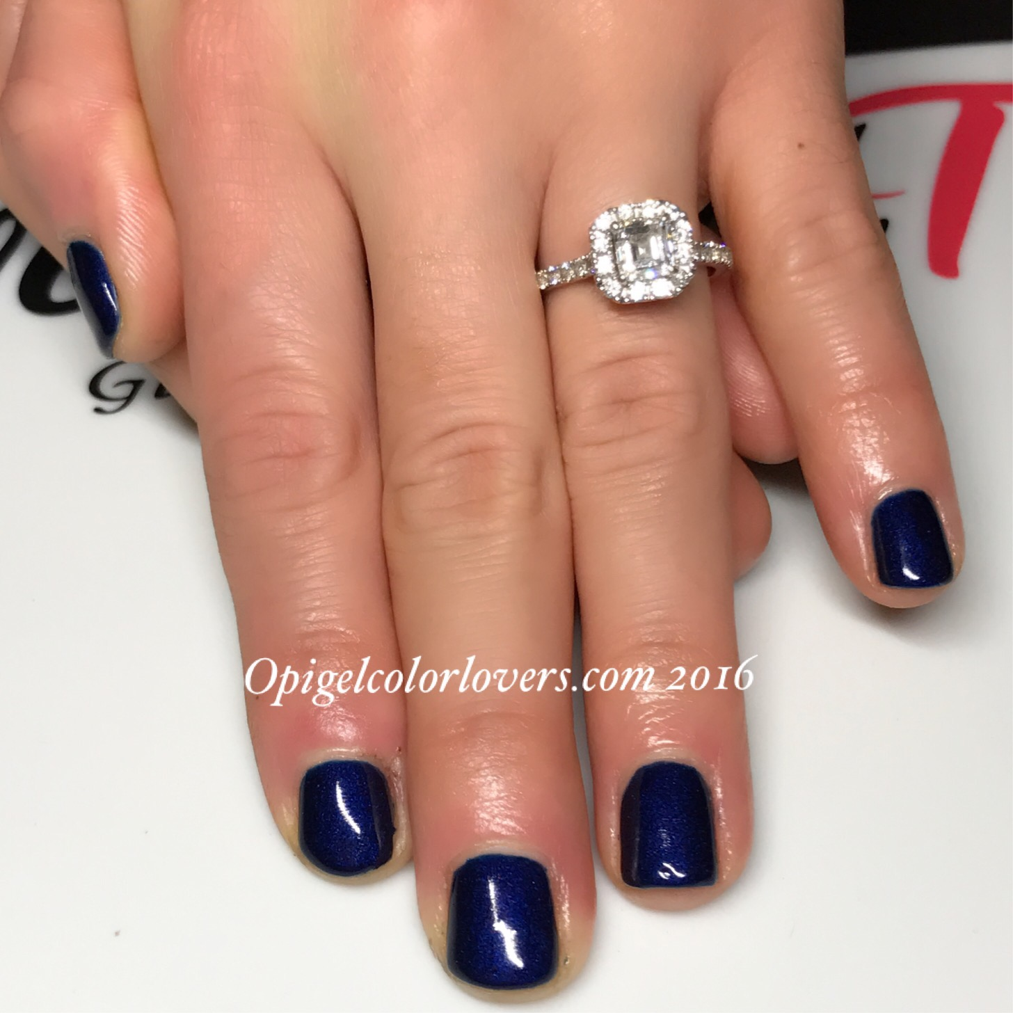 OPI GelColor Lovers Manicure Monday: Russian Navy