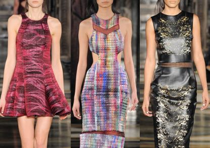 Holography gowns