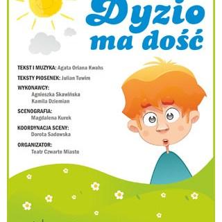 Bajka dla dzieci polonijnych Dyzio Ma Dość, Julian Tuwim