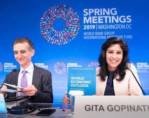 Gita Gopinath au au Spring Meetings 2019