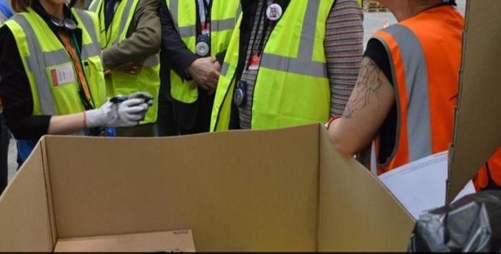 Des employés d'Amazon