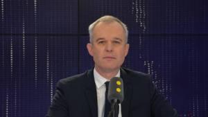 François de Rugy lors d'une interview sur Franceinfo en novembre 2017