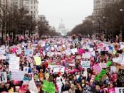linkse anti-Trump demonstratie Washington