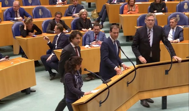 Tweede Kamer debat Zijlstra